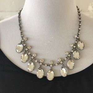 Stunning J Crew Rhinestone Statement Necklace!